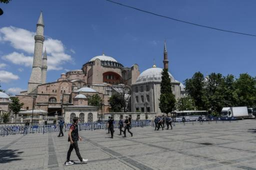 The Hagia Sophia was first constructed as a cathedral in the Christian Byzantine Empire but was converted into a mosque after the Ottoman conquest of Constantinople in 1453