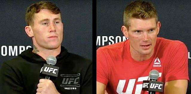 Darren Till and Stephen Thompson UFC Liverpool Post-Fight