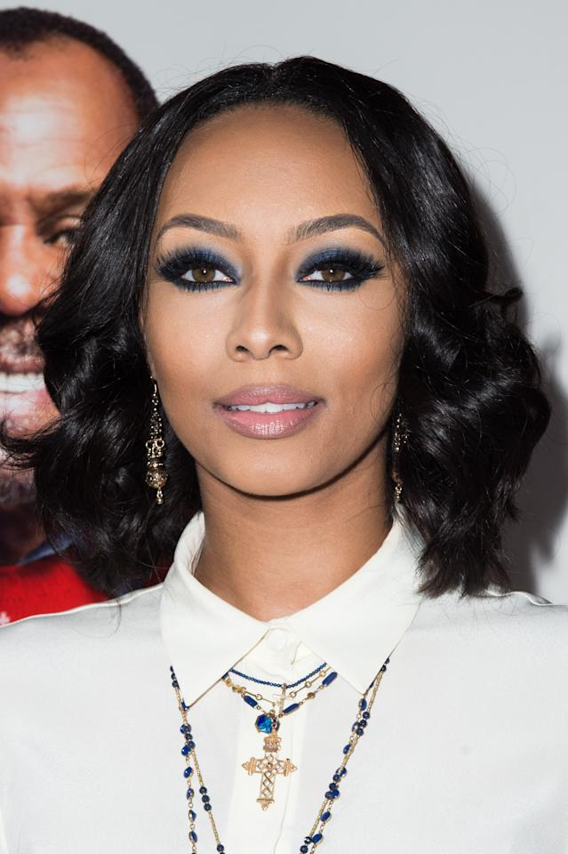 <p>Keri's brows are filled to perfection! </p>