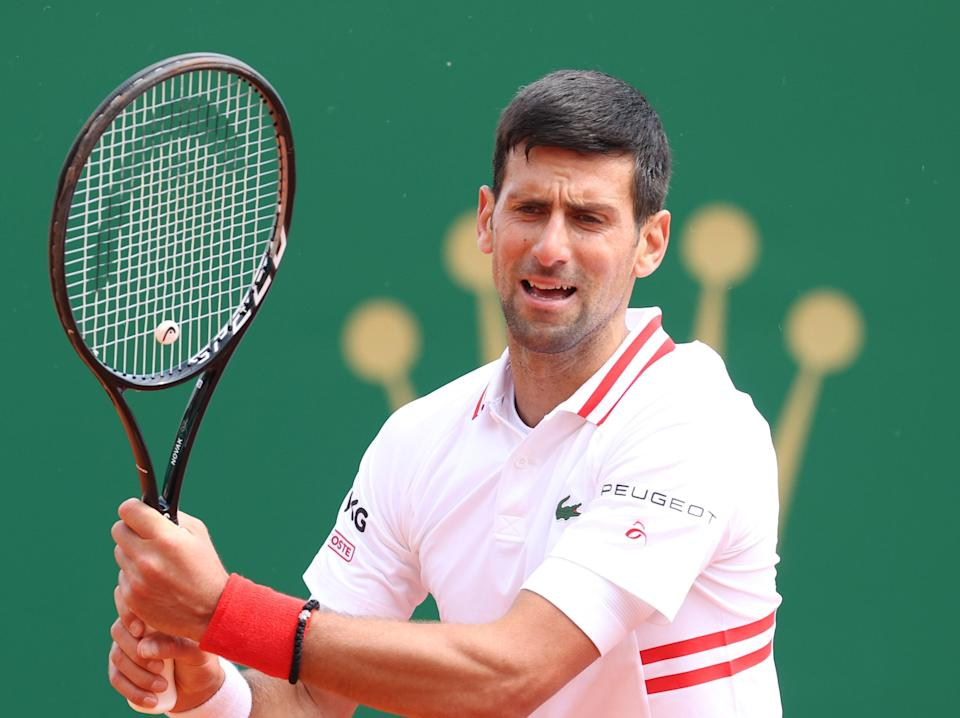 Novak Djokovic exited the Monte-Carlo Masters at the hands of Dan Evans (Getty Images)