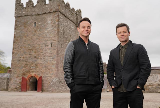 Ant and Dec explored their family history in 'Ant and Dec's DNA Journey' (Credit: ITV)
