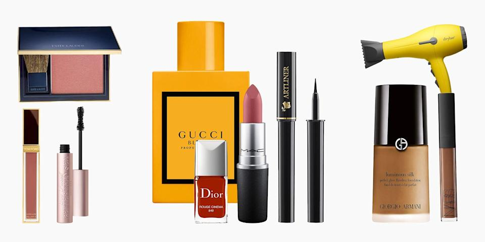 <p>It's not every day that you see sales on beauty staples like Benefit's accurately named Better Than Sex mascara or M.A.C's iconic Ruby Woo lipstick, so we're pleased to share that Nordstrom's spring sale is here to restock your faves. The discounts aren't steep—most of the deals hover around 15 percent off—but these items are rarely discounted and are mainstays in your routine (or they're about to be). Plus, with winter finally over, it's time to edit your skin and beauty routine for the new season. We're talking about lipstick you can finally wear without a mask (for the vaccinated), serums to recharge your skin, and beauty tools you've been thinking about investing that are finally slashed in price. Ahead, our top 15 picks to shop today. </p>