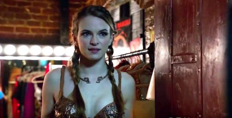 Guest star Danielle Panabaker (Credit: NBC)