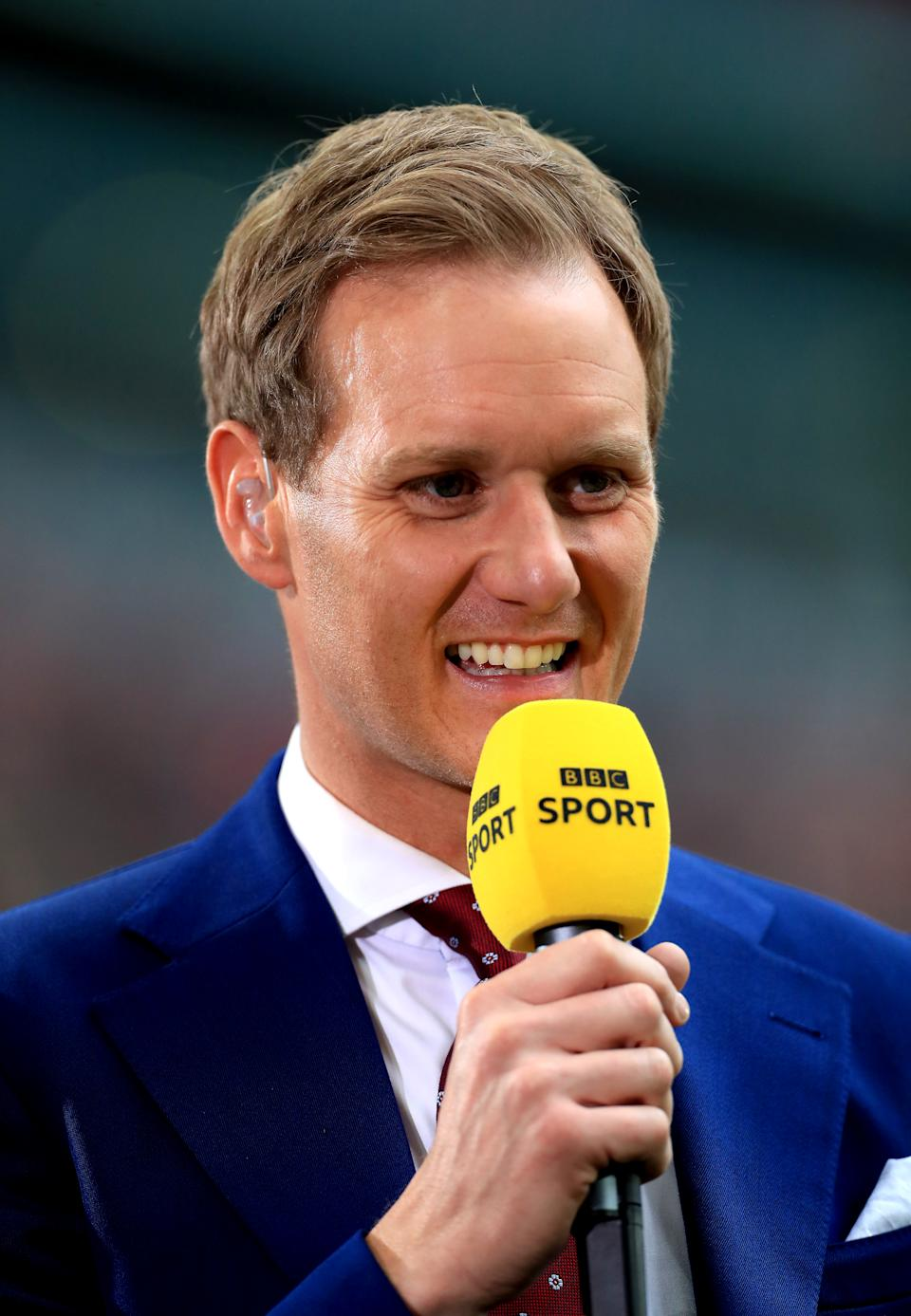 File photo dated 18/5/2019 of Dan Walker who has announced he is stepping down as host of the BBC's Football Focus after 12 years at the helm. The presenter, who also fronts BBC Breakfast, joined the football magazine show at the start of the 2009-10 season. Issue date: Thursday April 8, 2021.