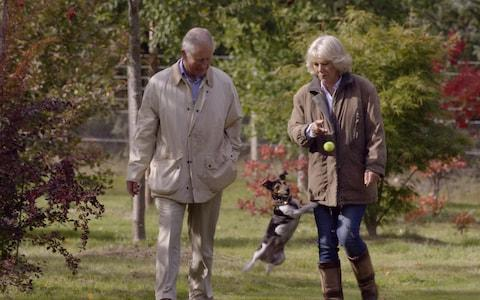 "Prince Charles, the Prince of Wales, and Camilla, Duchess of Cornwall, in ""Prince, Son and Heir: Charles at 70"", a documentary which will be broadcast at 2100 on 8th November, 2018, on BBC One."