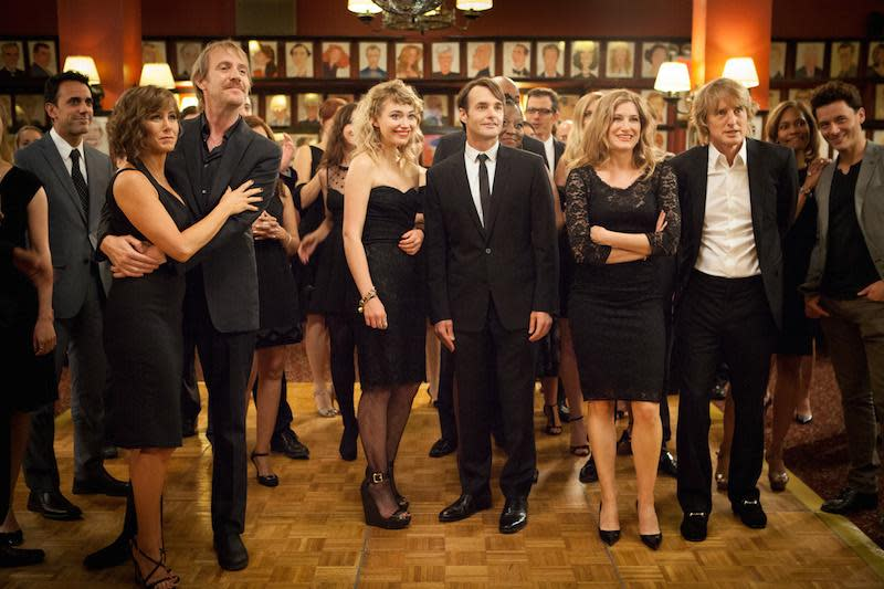 Jennifer Aniston Owen Wilson and the cast of She's Funny That Way