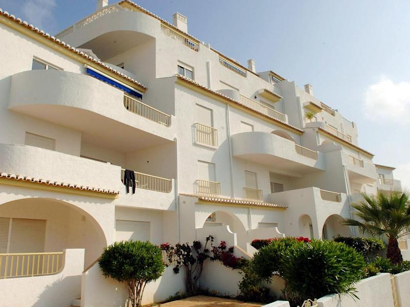 The apartments at the Ocean Club in Luz in the Algarve, Portugal, where Madeleine McCann went missing (Steve Parsons/PA Wire)