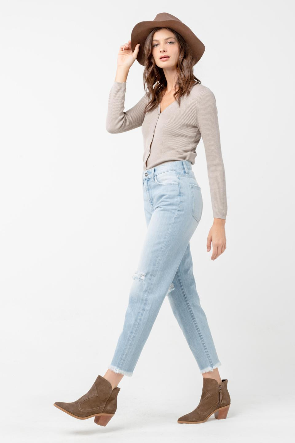 A pair of denim pants from Ceros Jeans - Credit: AC01