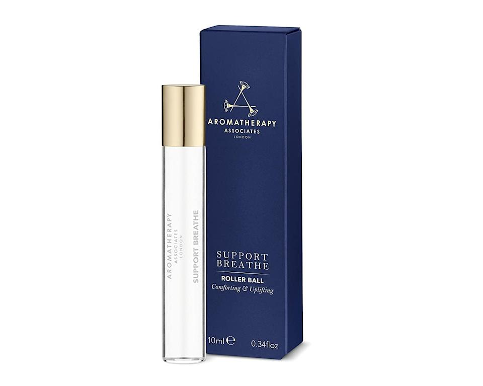 <p>The easiest way to clear your head and ease your breathing during a particularly stressful situation? Using this <span>Aromatherapy Associates Support Breathe Rollerball</span> ($33) on your pulse points.</p>