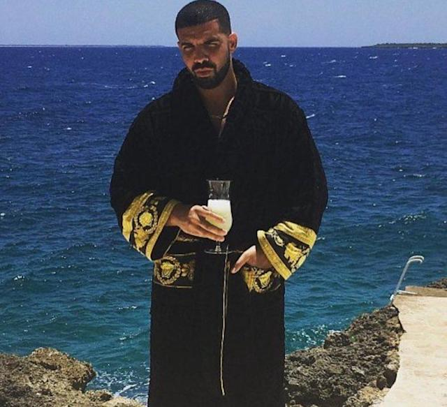 "<p>When you're Drake's dad (not to mention an Instagram celebrity), you brag about the rapper and the liquor company he co-founded, <a href=""https://www.instagram.com/p/BVfqC4enaHd/"" rel=""nofollow noopener"" target=""_blank"" data-ylk=""slk:Virginia Black Whiskey"" class=""link rapid-noclick-resp"">Virginia Black Whiskey</a>. You also refer to your son as the ""Don Juan of the Northern Hemisphere"" and ""The New Generation Don Juan."" (Photo: Dennis Graham via Instagram) </p>"