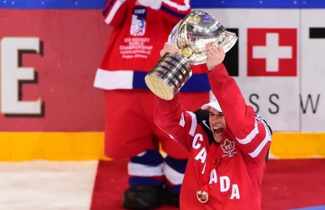 Sidney Crosby will captain Canada in the World Cup of Hockey (AFP Photo/Jonathan Nackstrand)