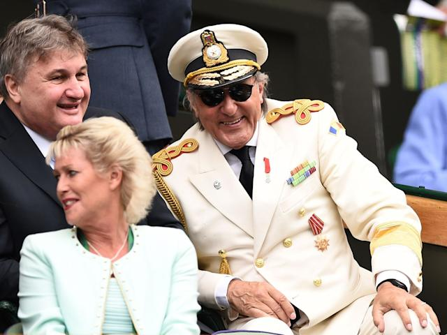 Ilie Nastase will not be invited into the Wimbledon royal box this year: Getty
