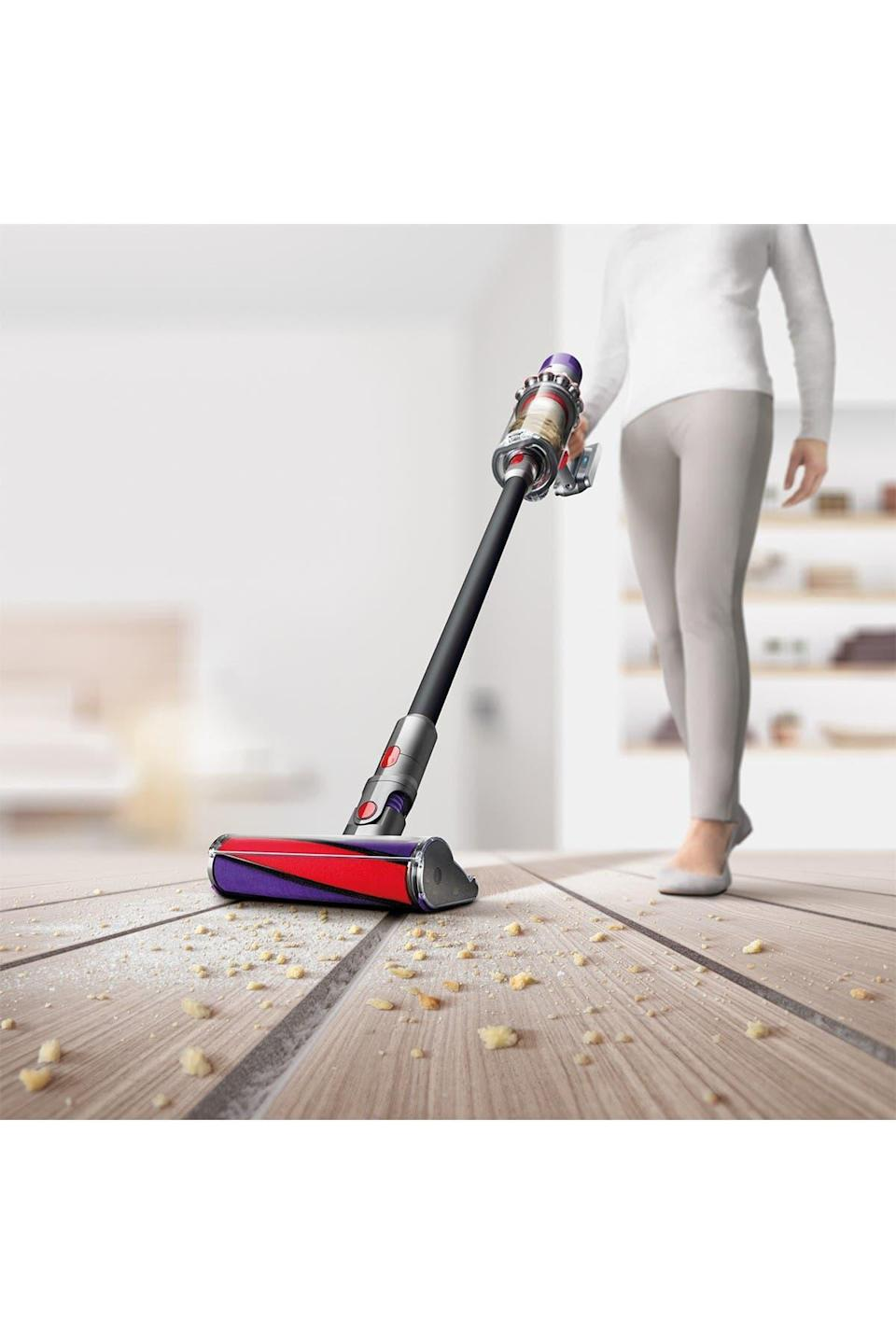 "<br><br><strong>Dyson</strong> Cyclone V10 Absolute Pro Cord Free Vacuum - Refurbished, $, available at <a href=""https://go.skimresources.com/?id=30283X879131&url=https%3A%2F%2Fwww.nordstromrack.com%2Fs%2Fdyson-cyclone-v-10-absolute-pro-cord-free-vacuum-refurbished%2Fn3547039"" rel=""nofollow noopener"" target=""_blank"" data-ylk=""slk:Nordstrom Rack"" class=""link rapid-noclick-resp"">Nordstrom Rack</a>"