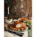 "<p>Our sweet and savoury turkey crown is easy to prepare and simple to carve.</p><p><strong>Recipe: <a href=""https://www.goodhousekeeping.com/uk/christmas/christmas-recipes/a551495/maple-and-mustard-glazed-turkey-crown/"" rel=""nofollow noopener"" target=""_blank"" data-ylk=""slk:Maple and mustard glazed turkey crown"" class=""link rapid-noclick-resp"">Maple and mustard glazed turkey crown</a></strong></p>"