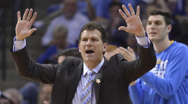 UCLA head coach Steve Alford has dismissed any rumors of him leaving for the head coaching vacancy at Indiana, according to ESPN's Jeff Goodman.