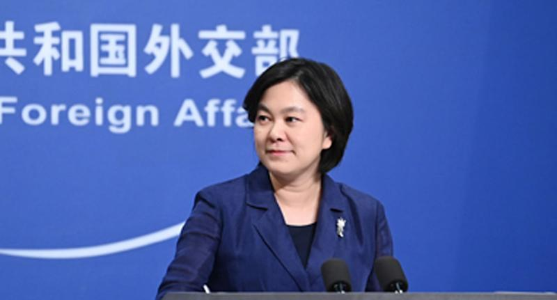 Foreign Ministry spokesperson Hua Chunying took aim at Australia once again on Tuesday. Source: FMPRC