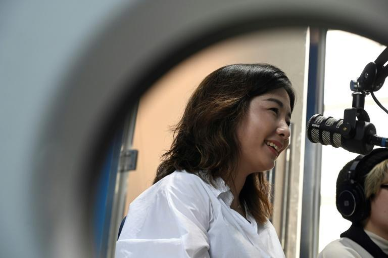 Wang Qing, co-host of Chinese podcast The Weirdo, said her audience is mainly educated urban youth