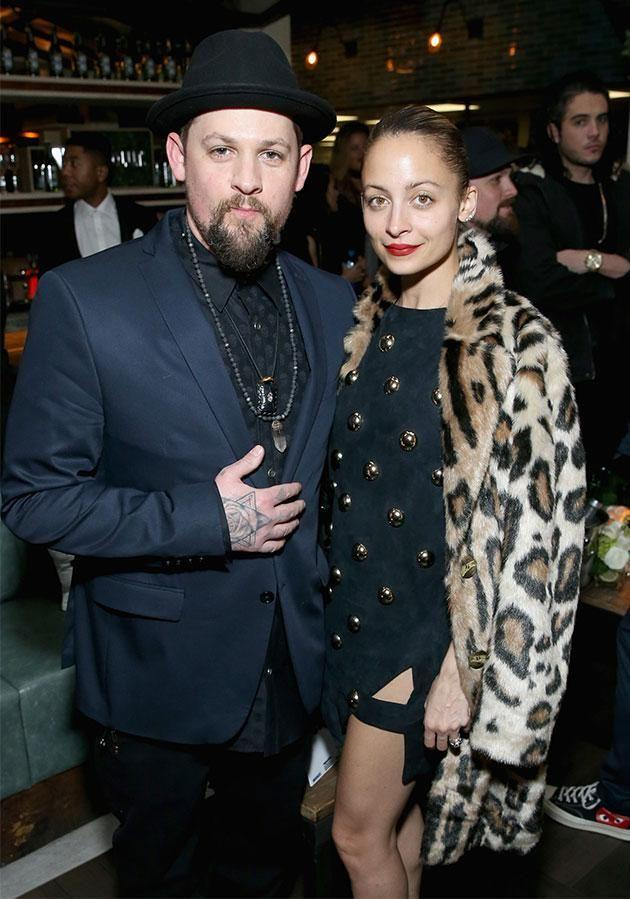 Joel Madden and Nicole Richie at Republic Records' afterparty at Catch. Photo: Getty Images