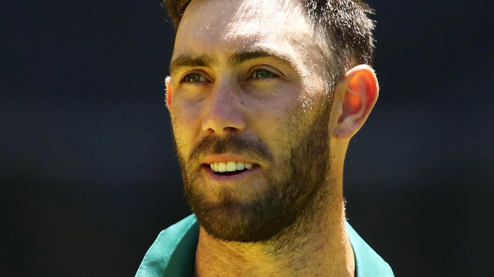 Glenn Maxwell looks on. (Photo by Ryan Pierse/Getty Images)