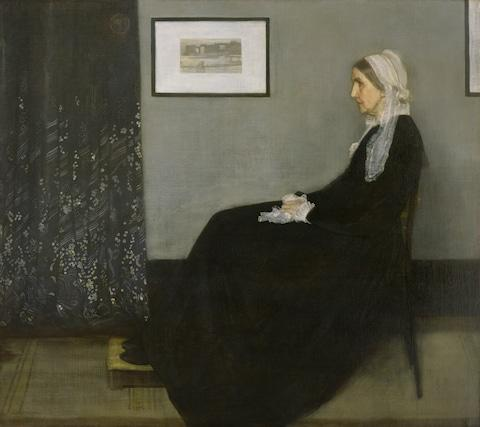 Whistler's depiction of his mother