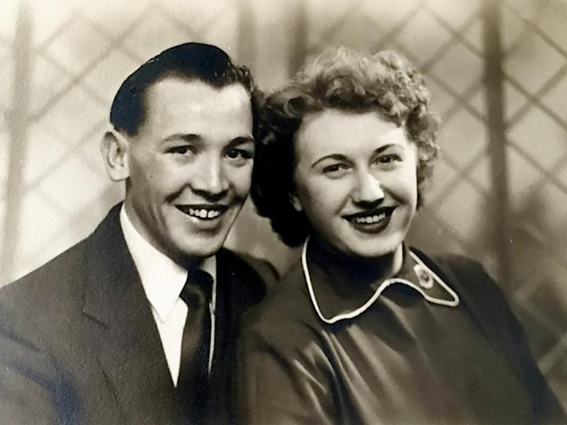 David and Margaret Matthews met at a labour club in 1954 (SWNS)