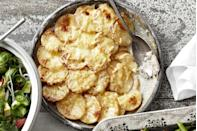 "<p class=""imageContent"">Celery root lends unique flavor and freshness to this variation on a classic potato gratin.</p><p class=""imageContent""><strong><a href=""https://www.countryliving.com/food-drinks/recipes/a3574/potato-celery-root-gratin-recipe-clv0211/"" rel=""nofollow noopener"" target=""_blank"" data-ylk=""slk:Get the recipe"" class=""link rapid-noclick-resp"">Get the recipe</a>.</strong></p>"