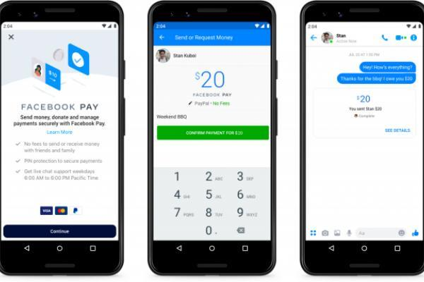 Facebook Pay will let you send money on Messenger, WhatsApp and Instagram