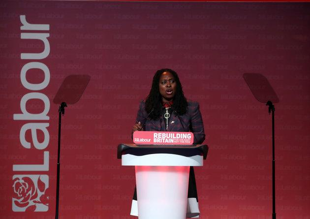 Shadow Minister for Women and Equalities Dawn Butler MP speaks at Labour's National Women's Conference at the ACC in Liverpool, ahead of the party's annual conference