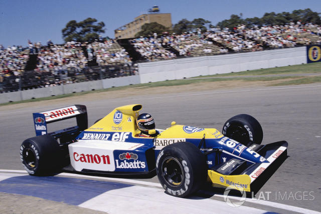 "1989: Williams-Renault FW13 <span class=""copyright"">LAT Images</span>"