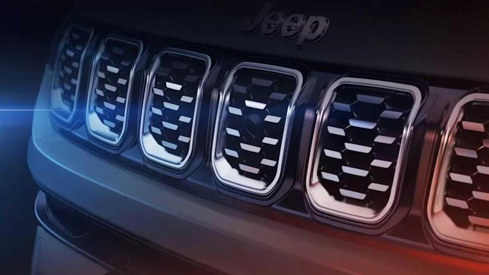Jeep Compass 2022 - Teasers