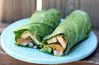 "<p><b>Get the recipe:</b> <a href=""http://www.eatingbirdfood.com/2012/06/tempeh-and-sweet-potato-collard-wraps/"" class=""link rapid-noclick-resp"" rel=""nofollow noopener"" target=""_blank"" data-ylk=""slk:tempeh and sweet potato collard wraps"">tempeh and sweet potato collard wraps</a></p>"