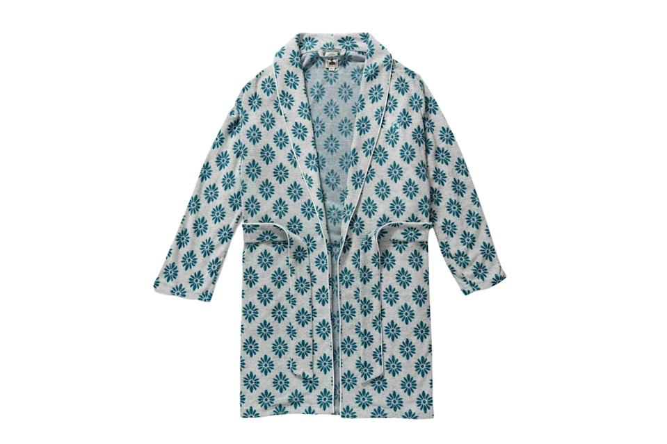 """$119, Dandy Del Mar. <a href=""""https://dandydelmar.com/collections/all-products/products/the-tropez-terry-cloth-robe-gardenia"""" rel=""""nofollow noopener"""" target=""""_blank"""" data-ylk=""""slk:Get it now!"""" class=""""link rapid-noclick-resp"""">Get it now!</a>"""