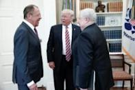 Washington (AFP) - Embattled US President Donald Trump faced explosive allegations that he divulged top secret intelligence to Russian diplomats in the Oval Office, a charge the White House scrambled to rebut Monday.
