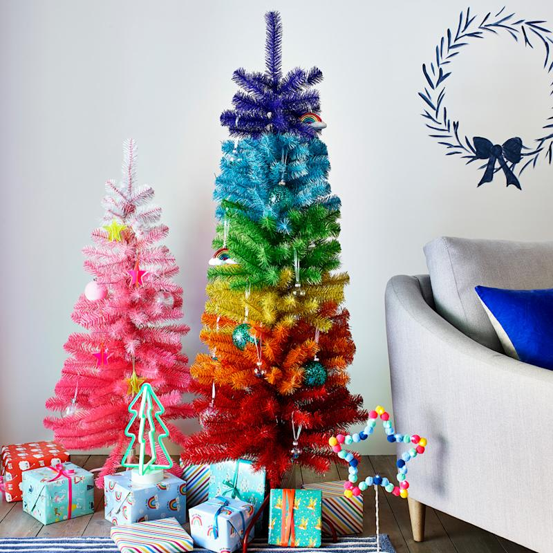 Argos' new Rainbow Christmas Tree, £35