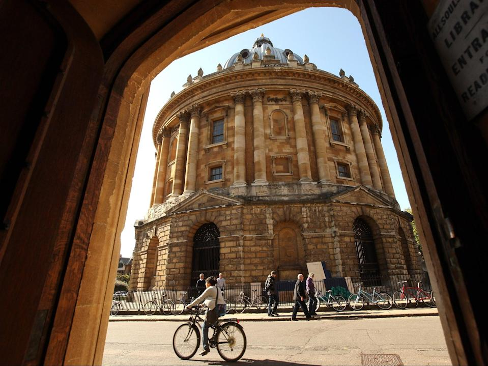 <p>One in six  students admitted to Oxford last year were from the most socio-economically disadvantaged areas</p> (Getty Images)