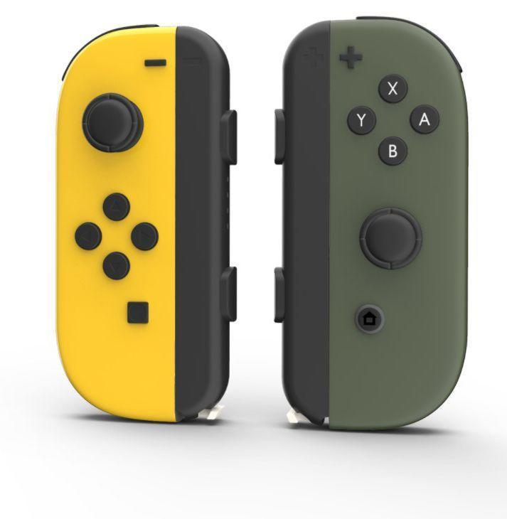 """<p><strong>Colorware</strong></p><p>colorware.com</p><p><strong>$10.00</strong></p><p><a href=""""https://www.colorware.com/p-959-nintendo-joy-con-skins.aspx"""" rel=""""nofollow noopener"""" target=""""_blank"""" data-ylk=""""slk:Buy"""" class=""""link rapid-noclick-resp"""">Buy</a></p><p>Nintendo's Joy Con colors are fine. Whatever. But Colorware gives you an inexpensive option for reskinning them in new colors—vibrant or matte, textured or minimalist. </p>"""