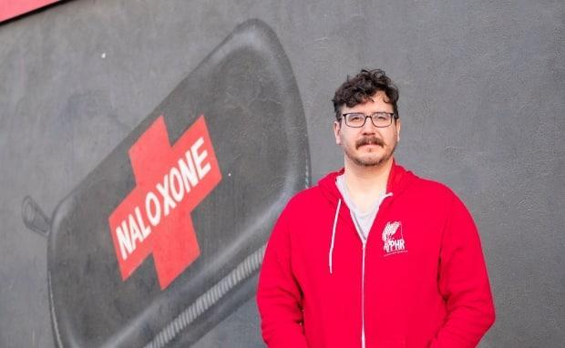 Prairie Harm Reduction executive director Jason Mercredi says he hopes people won't have to keep tuning into the organization's social media for information about potentially contaminated street drugs.  (Kendall Latimer/CBC - image credit)