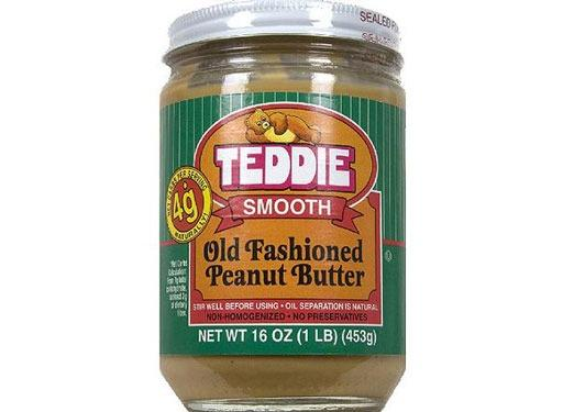 Teddie Smooth Old Fashioned All Natural Peanut Butter