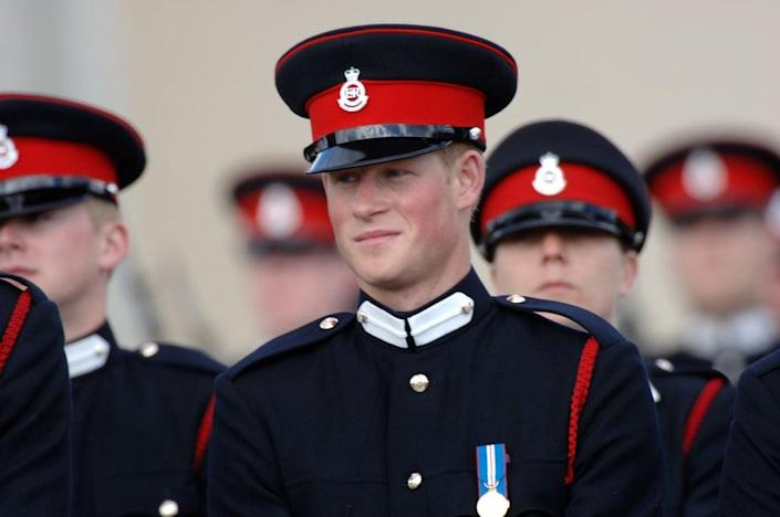 The Duke of Sussex was in the military for 10 years (Getty Images)