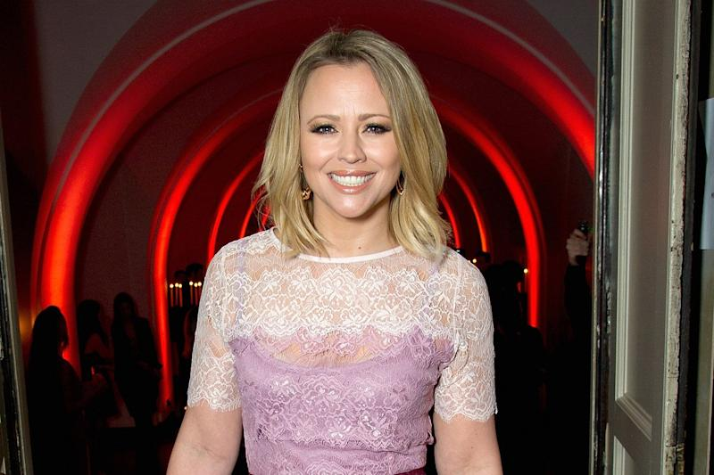 Comeback: Kimberley Walsh would be up for a Girls Aloud reunion: Eamonn M. McCormack/Getty Images