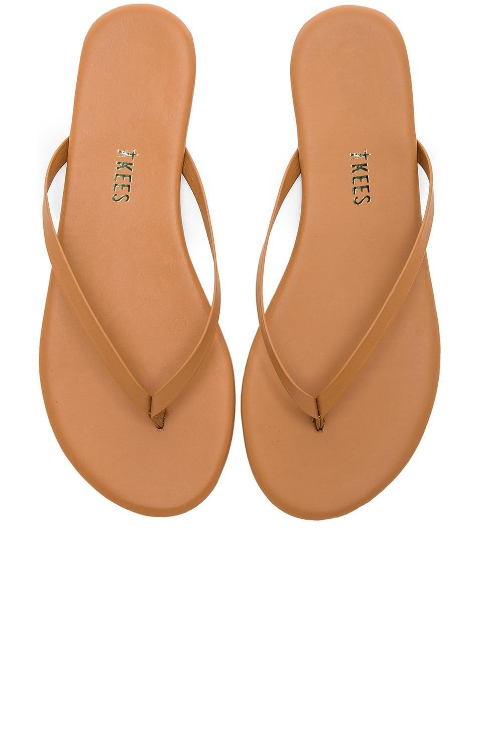 <p>These <span>Tkees Foundations Matte Flip Flops</span> ($50) are the grown up version of the classic shape. These are super comfortable, and this editor won't take hers off.</p>