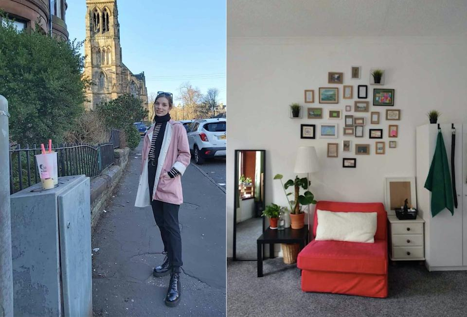 A student has revealed how she managed to furnish her entire house for free, saving thousands. (Collect/PA Real Life).