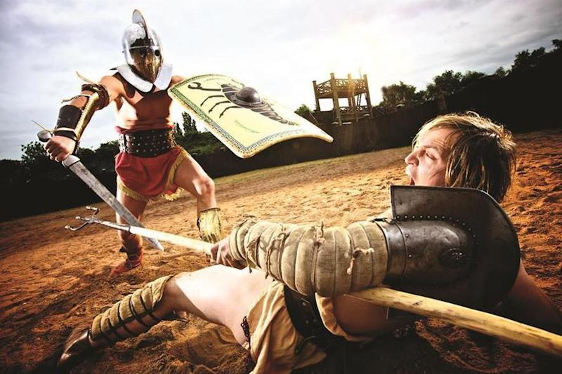 Are you not entertained? The Museum of London's Gladiator Games are playing all weekend