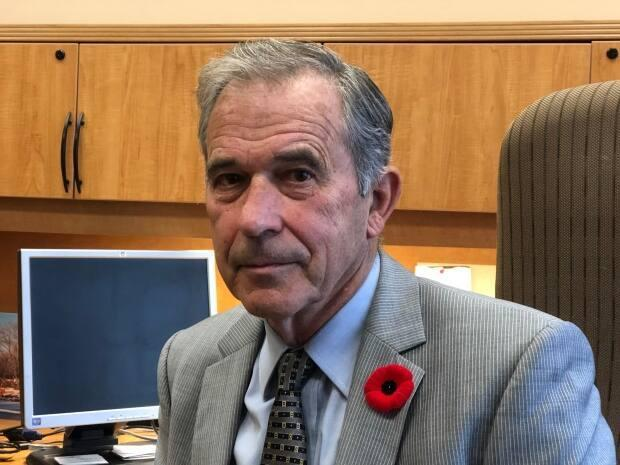 Richard Temporale, Nova Scotia's chief electoral officer, is shown in November 2019.