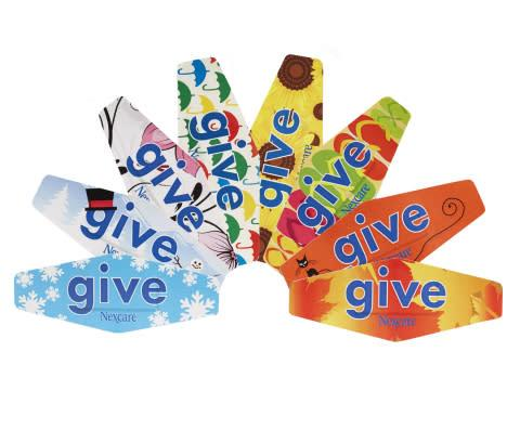 The 2013 Nexcare Give Bandage Collection Demonstrates that