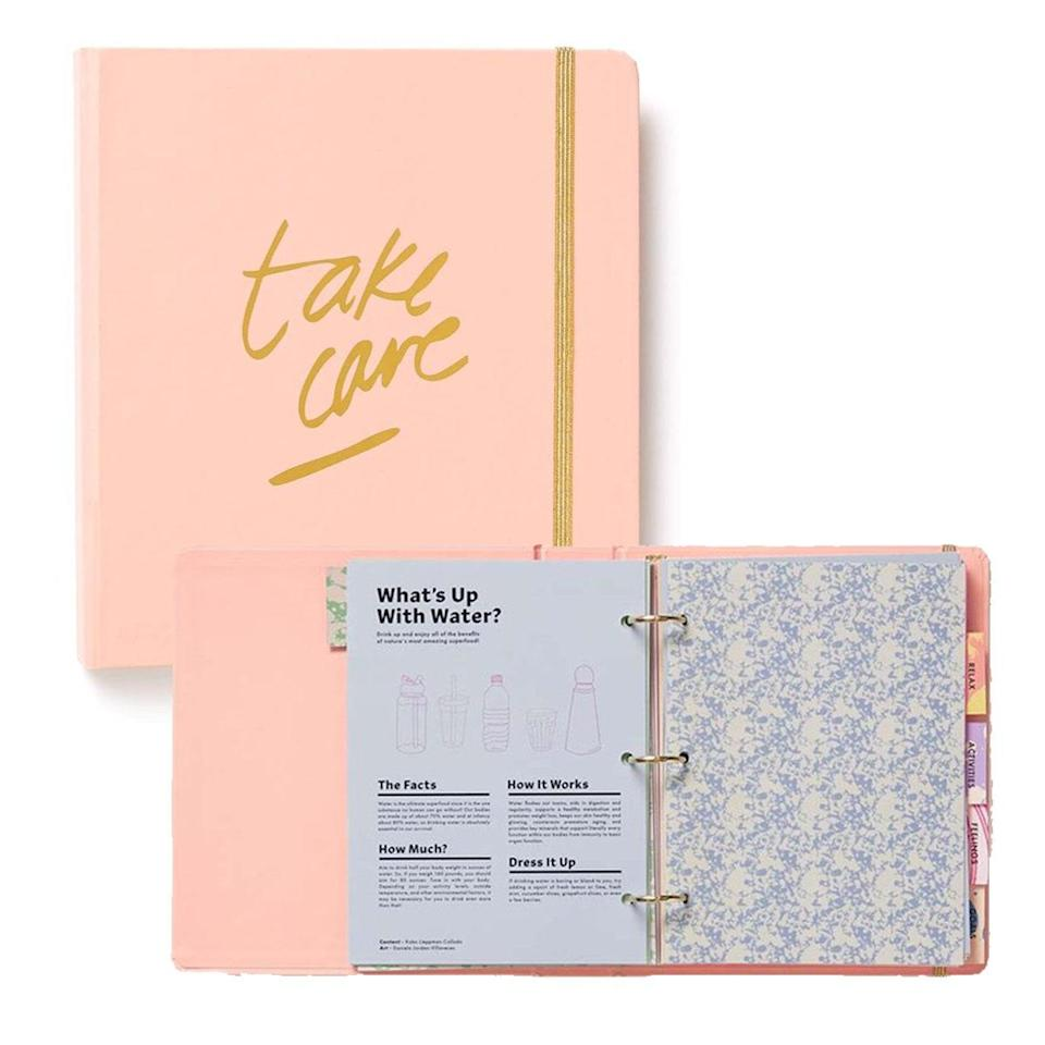 "This planner-slash-journal is packed with nutrition, exercise, body positivity, and mental wellness tips. And it has pages for goal planning, meal planning, activity logs, and more. Hint: It'll be especially useful in March when we're starting to abandon all those resolutions we swore by in January. $30, Ban.do. <a href=""https://www.bando.com/products/wellness-planner-issue-one"" rel=""nofollow noopener"" target=""_blank"" data-ylk=""slk:Get it now!"" class=""link rapid-noclick-resp"">Get it now!</a>"