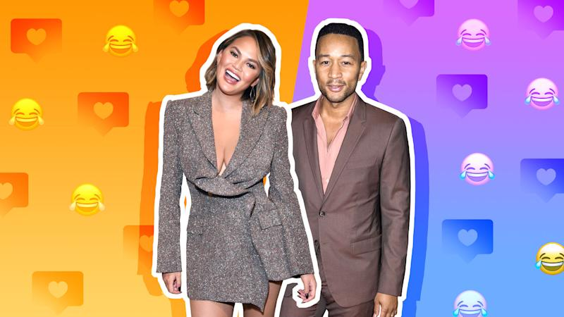 Chrissy Teigen's Reason For Online Stalking John Legend Before They Dated Has Us Shook