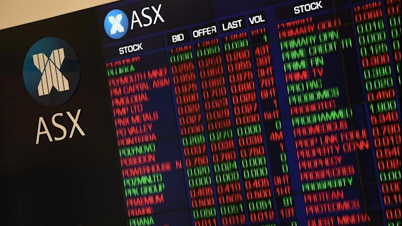 The Australian share market has started the week in positive territory.