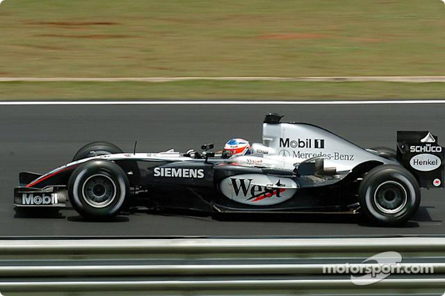 "2004: McLaren MP4-19B <span class=""copyright"">Michelin Sport</span>"