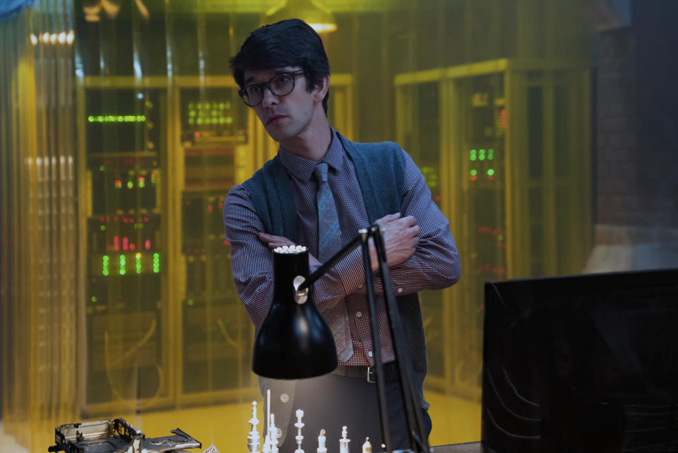Ben Whishaw in No Time To Die. (Photo: United International Pictures)